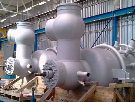 Large control and shut off valve