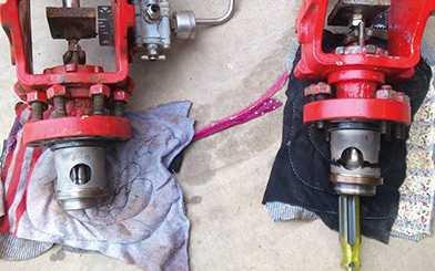 Intermediate pressure feedwater valve replacement